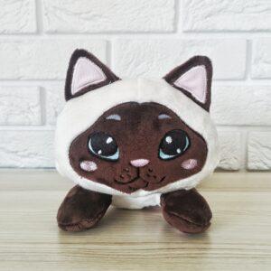 kot przytulanka handmade colourpoint