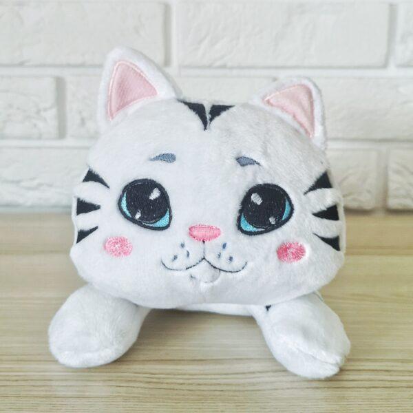 Kot przytulanka tygrysek handmade w paski