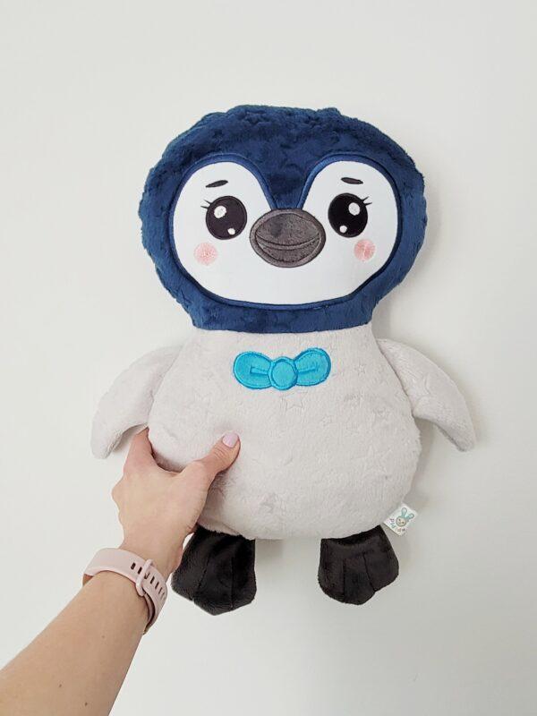pingwin gigant poduszka i przytulanka do uszycia