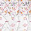 pościel dwustronna podniebne słodziaki wrzosowy, kolorowe zwierzątka i baloniki