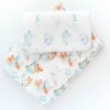 bawełniana pościel dwustronna podniebne słodziaki niebieskie